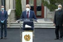 Пик эпидемии коронавируса в Армении придется на конец июня – Никол Пашинян