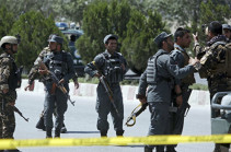 В Афганистане около 11 полицейских погибли при подрыве автомобиля
