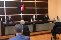 Տիգրան Ավինյանը աշխատակազմին է ներկայացրել ՊԵԿ նորանշանակ նախագահին