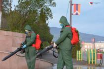 Режим ЧС в связи с коронавирусом в Карабахе продлен до 11 июля