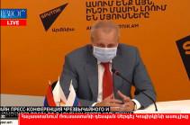 «Роспотребнадзор» предоставит Армении дополнительные средства для лабораторной диагностики  коронавируса – посол РФ (Видео)