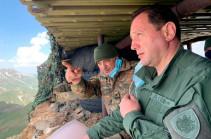 Մոնթեն յուրաքանչյուր զինծառայողի հոգում է. Դավիթ Տոնոյանն այցելել է «Մոնթե» անվանակոչված դիրք (լուսանկարներ)