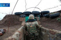 Azerbaijani side opens over 600 shots in direction of the Armenian post guards during past week