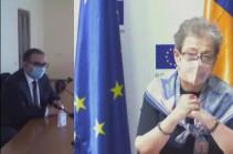 Armenia's Economy Minister, EU Ambassador discuss opportunities of expansion of Armenia-EU relations