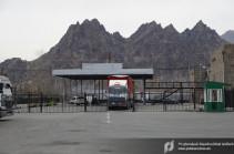 Մեղրիի մաքսակետը Իրանի և ՀՀ միջև միջազգային բեռնափոխադրումների մասով անցնում է բնականոն աշխատանքի