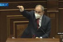 Всех этих основанных на «верноподданичестве» политических деятелей народ возьмет за шею и выбросит из этого зала – Никол Пашинян