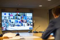 Серж Саргсян принял участие в видеоконференции Восточного партнерства Европейской народной партии