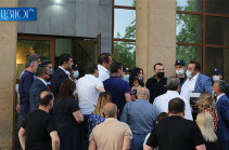 В «Единой России» пожелали Армении скорейшего выхода из конфликта вокруг лидера оппозиции Царукяна (РИА Новости)