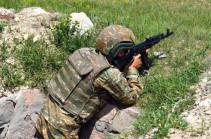 Հակառակորդը հայ դիրքապահների ուղղությամբ արձակել է  ավելի քան 700 կրակոց