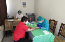 Artsakh president undergoes coronavirus test