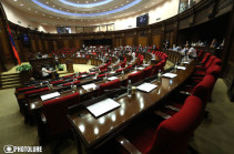 Armenia's parliament adopts draft of Constitutional amendments at first reading