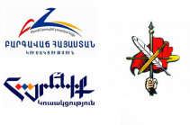 Hayrenik, PAP, ARF-D parties discuss ways to restore constitutional order in Armenia, to create joint task group