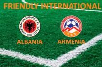 Հայաստանի և Ալբանիայի հավաքականները Երևանում կանցկացնեն ընկերական հանդիպում