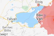На границе Ирана и Турции произошло землетрясение магнитудой 5,3