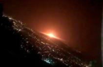 На военной базе в Иране произошел взрыв газа