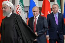 Путин пообщается с главами Турции и Ирана по видеосвязи