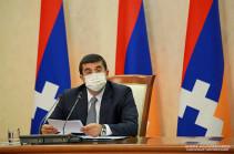 Արցախի Հանրապետության նախագահը ներկայացրել է 2020-2025թթ. ծրագիրը