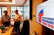 Online voting on constitutional amendments over in Russia