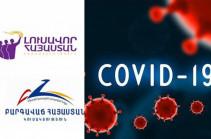 «Процветающая Армения» и «Светлая Армения» обратились к спикеру парламента для создания следственной комиссии в связи с распространением коронавируса