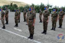 В воинских частях Арцаха все приведено в соответствие с требованиями чрезвычайного положения