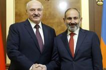 Уверен, что и в дальнейшем армяно-белорусское межгосударственное сотрудничество поднимется на качественно новый уровень – Никол Пашинян