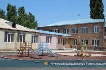 Եղվարդ խոշորացված համայնքի բնակավայրերում այս աշնանը շահագործման կհանձնվի երկու մանկապարտեզ