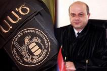 Pastinfo: Armenia's NSS threatens Yerevan judge Vahagn Melikyan