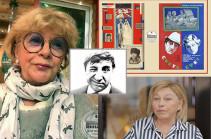 «Ֆրունզիկն ինձ մի քանի հայերեն արտահայտություն է սովորեցրել, օրինակ՝ «ցավդ տանեմ»-ը»․ խորհրդային կինոյի հայտնիները պատմել են Մհեր Մկրտչյանի մասին (Տեսանյութ)