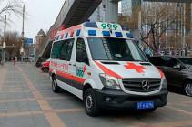 В Китае при падении строительного крана погибли пять человек