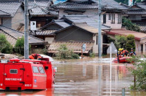 Ճապոնիայում հորդառատ անձրևների հետևանքով մահացածների թիվը հասել է 40-ի (Տեսանյութ)