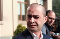 Отклонено уже второе ходатайство об аресте бывшего посла Армении при Святом Престоле Микаела Минасяна – Амрам Макинян