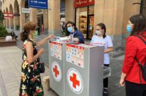 Երևանում կամավորների կողմից քաղաքացիներին բաժանվող դիմակները չինական արտադրության են