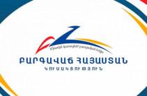 Политсовет партии «Процветающая Армения» призывает власти «воздержаться от хулиганских действий»