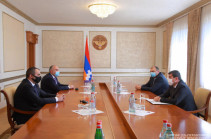 Artsakh president received RA Prosecutor General Artur Davtyan
