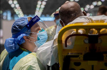 В США выявили почти 45 тысяч новых случаев COVID-19