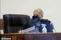 Анна Данибекян отклонила ходатайство прокуроров по делу Роберта Кочаряна и других