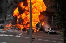 В Колумбии число жертв взрыва бензовоза выросло до 20 человек