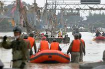 В Японии объявили эвакуацию для 230 тысяч человек