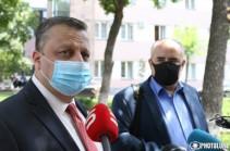 Я же не начальник Специальной следственной службы, чтобы давать какую-то оценку, не ознакомившись с решением – Александр Азарян о решении ВСС