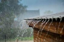 Առանձին շրջաններում սպասվում են ամպրոպային բնույթի ինտենսիվ անձրևներ և ուժեղ քամիներ