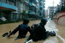 Более 20 человек погибли из-за схода оползней в Непале