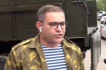Нарек Малян продолжает акцию: шествие движется к парламенту Армении