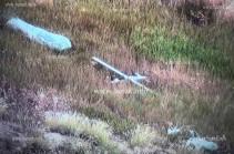 Այս պահին խոցվել է ադրբեջանական մի քանի անօդաչու թռչող սարք, որոնցից մեկը «կամիկաձե» է. Քոչարյան (Լուսանկար)