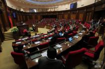 Парламент отклонил предложение фракции «Процветающая Армения» об отмене запрета на проведение собраний и общественных мероприятия