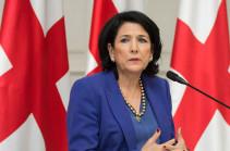 Վրաստանի նախագահը Հայաստանի և Ադրբեջանի սահմանին էսկալացիայի խաղաղ հանգուցալուծման հույս ունի