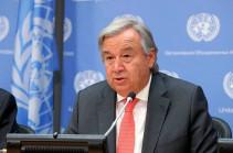 UN Secretary General urges immediate end to the fighting on Armenian-Azerbaijani border
