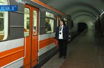 Այսօրվանից Երևանի մետրոյի գնացքները կաշխատեն 8,5-9 րոպեն մեկ