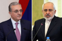 Armenian, Iranian FMs discuss situation on Armenian-Azerbaijani border