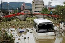 Ճապոնիայում ջրհեղեղի և սողանքների հետևանքով զոհերի թիվը հասել է 76-ի