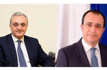 Զոհրաբ Մնացականյանը Կիպրոսի ԱԳ նախարարին ներկայացրել է հայ-ադրբեջանական սահմանին ստեղծված իրադրությունը